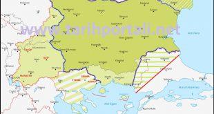 1. ve 2. Balkan Savaşı'nda Bulgaristan sınırları