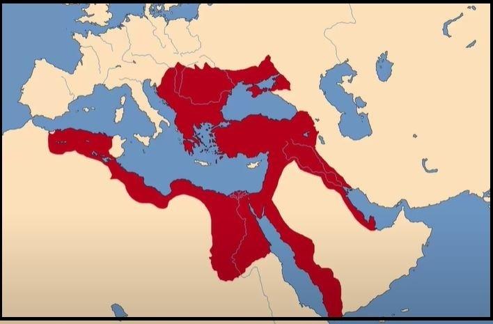 1578 Osmanlı Sınırları Haritası