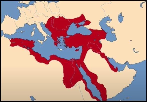 1590 Ferhat Paşa Antlaşması ile alınan yerler haritası