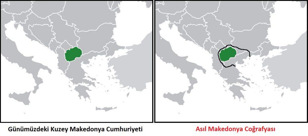 Osmanlı'nın Londra Antlaşması ile kaybettiği yerlerden Makedonya